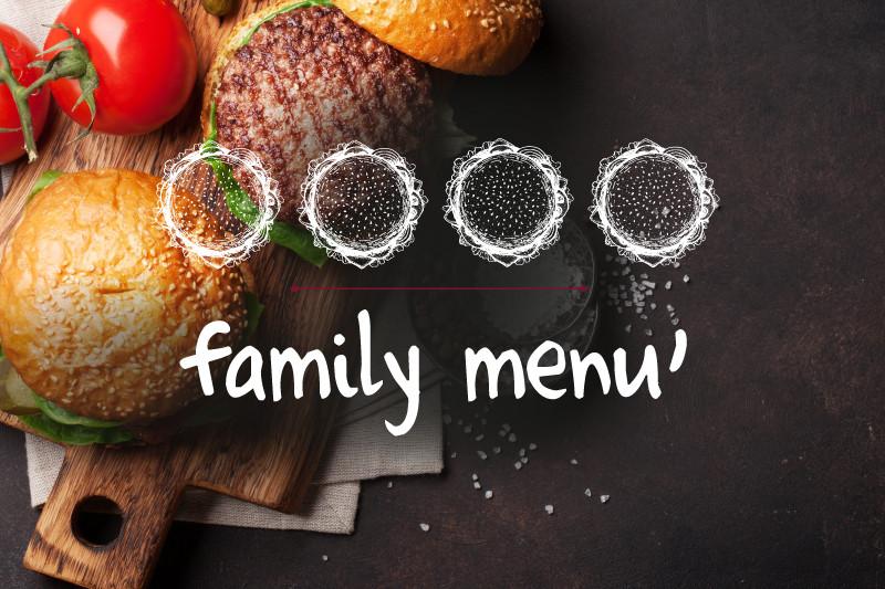 Family menù